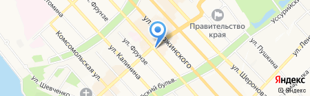 CrossCoffe на карте Хабаровска