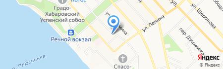 JAutoParts на карте Хабаровска