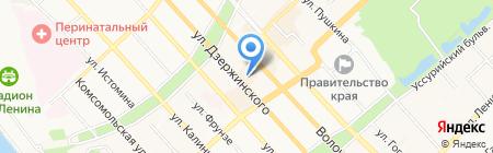 Нотариус Чалый П.А. на карте Хабаровска