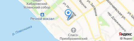 Госжелдорнадзор на карте Хабаровска