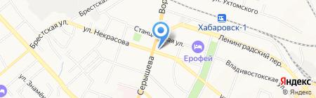 Энергия Жизни на карте Хабаровска