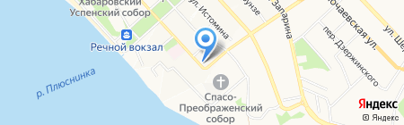 Карамель на карте Хабаровска