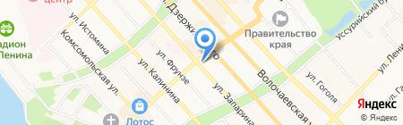 Уполномоченный по правам человека в Хабаровском крае на карте Хабаровска