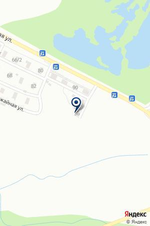 АЗС № 95 ТОРГОВАЯ КОМПАНИЯ ХАБАРОВСКНЕФТЕПРОДУКТ на карте Хабаровска