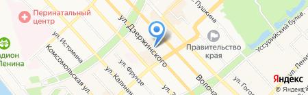 Центр технического творчества на карте Хабаровска