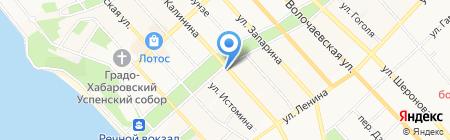 Хабаровский центр хореографического искусства на карте Хабаровска
