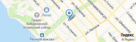 Детский сад №130 на карте Хабаровска