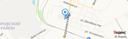 ГСК №326 на карте Хабаровска