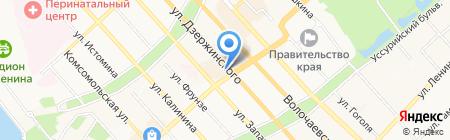 Morgan на карте Хабаровска