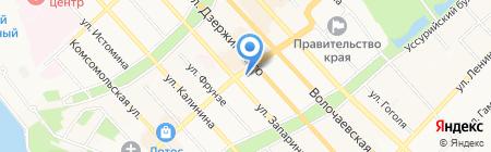 Хабаровское краевое киноцирковое объединение на карте Хабаровска