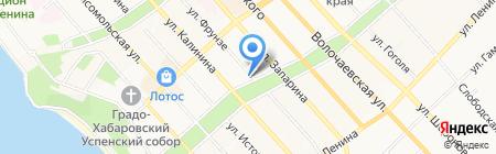 Горпроект на карте Хабаровска