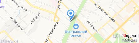 Mizuno на карте Хабаровска