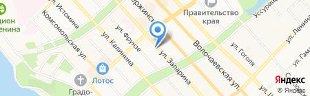 Око на карте Хабаровска