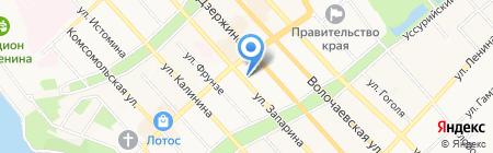 Министерство строительства Хабаровского края на карте Хабаровска