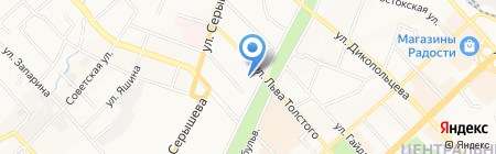 Манчестер на карте Хабаровска