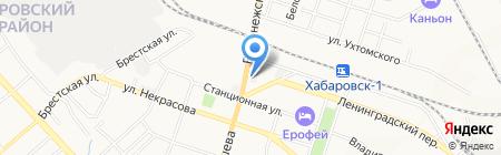 РегионПроект на карте Хабаровска