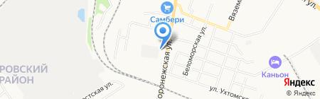 Стрела-2 на карте Хабаровска