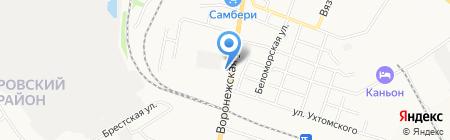 Уно Моменто на карте Хабаровска