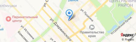 Lowyer на карте Хабаровска