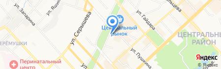 Мастер-Дент на карте Хабаровска