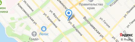 Центр гигиены и эпидемиологии в Хабаровском крае на карте Хабаровска