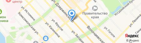 ОДУ Востока на карте Хабаровска