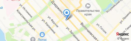 Комитет солдатских матерей на карте Хабаровска