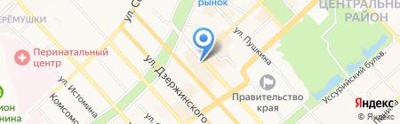 Адвокат Смирнов С.Г. на карте Хабаровска