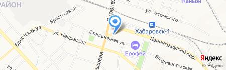 Comazo на карте Хабаровска