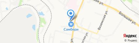Дальневосточный территориальный отдел управления Роспотребнадзора по железнодорожному транспорту на карте Хабаровска