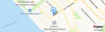 Геоинжстрой на карте Хабаровска