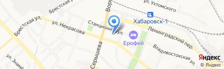 Полимертехнология на карте Хабаровска