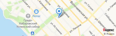 Финдом-Запчасть на карте Хабаровска