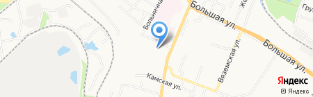 Краснофлотский районный суд г. Хабаровска на карте Хабаровска