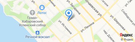 Отдел опеки и попечительства по г. Хабаровску на карте Хабаровска
