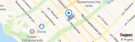 Оргэнергогаз на карте Хабаровска