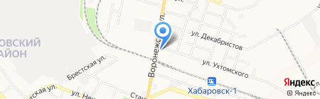 Секрет на карте Хабаровска