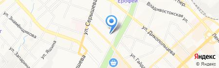 Regent на карте Хабаровска