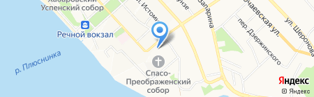 Открытие на карте Хабаровска