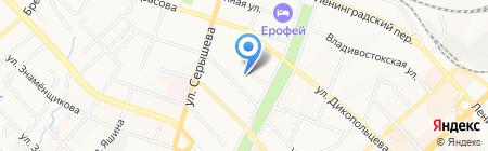 Ритм на карте Хабаровска