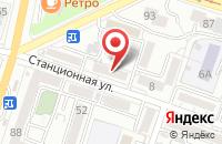 Схема проезда до компании Континент в Хабаровске
