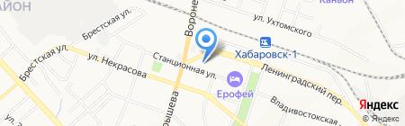 Аксиома на карте Хабаровска