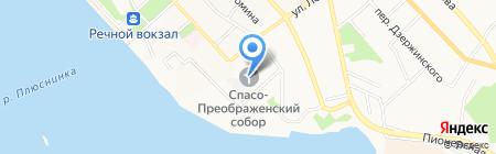Спасо-Преображенский Кафедральный собор г. Хабаровска на карте Хабаровска