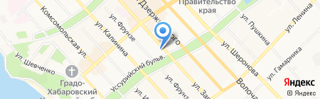 Банкомат Промсвязьбанк на карте Хабаровска