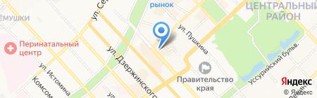 Sweet Angel на карте Хабаровска
