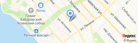Дон Патисон на карте Хабаровска