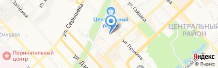 Детский сад №82 на карте Хабаровска