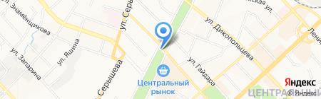 МТС на карте Хабаровска