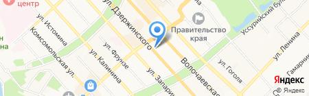 Ювелирная мастерская на карте Хабаровска