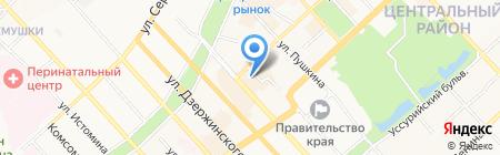 Бюро сюрпризов на карте Хабаровска